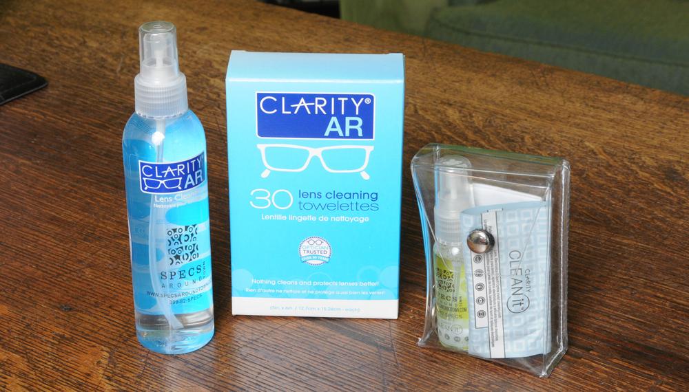 Clarity Defog & Eyeglass Cleaner - Photo : JMC Photos & Digital Services