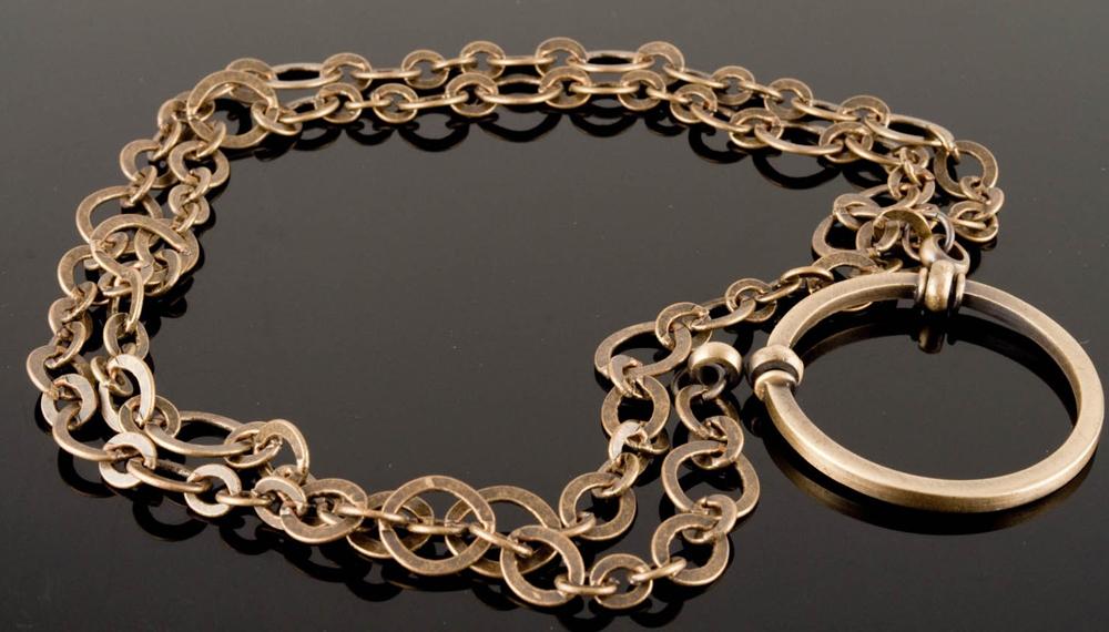 LaLoop Flat Brass Chain