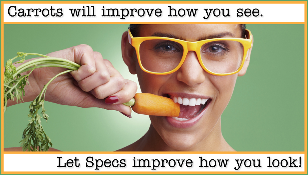 Let Specs improve how you look!