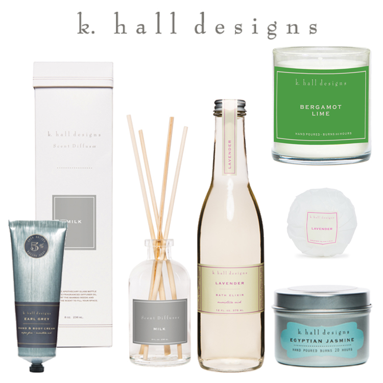 Just In : k. hall designs