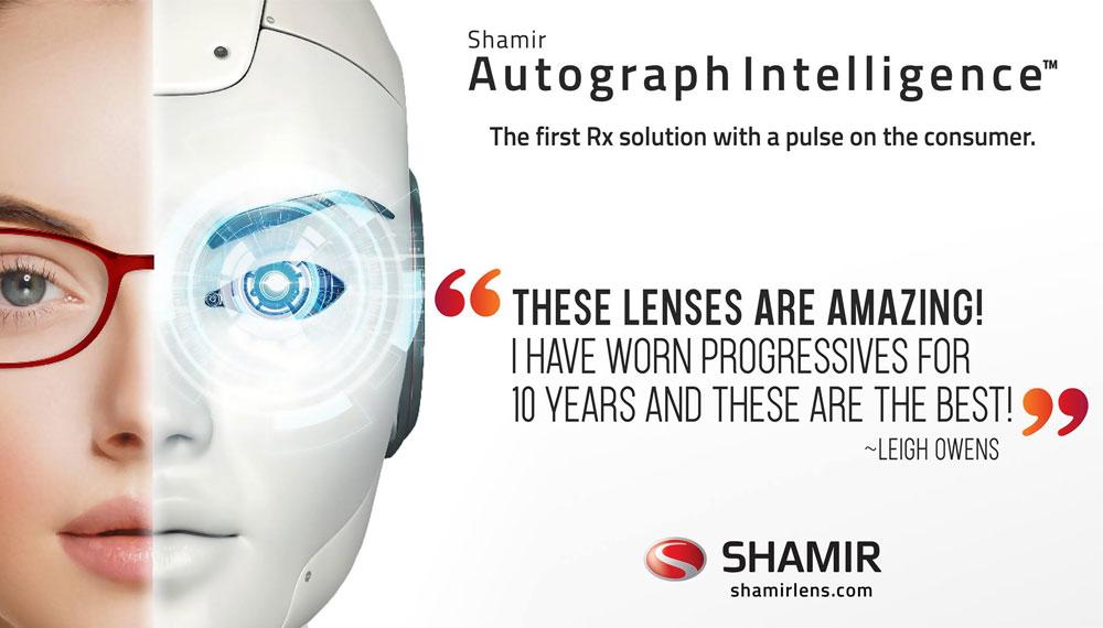 Shamir Autograph